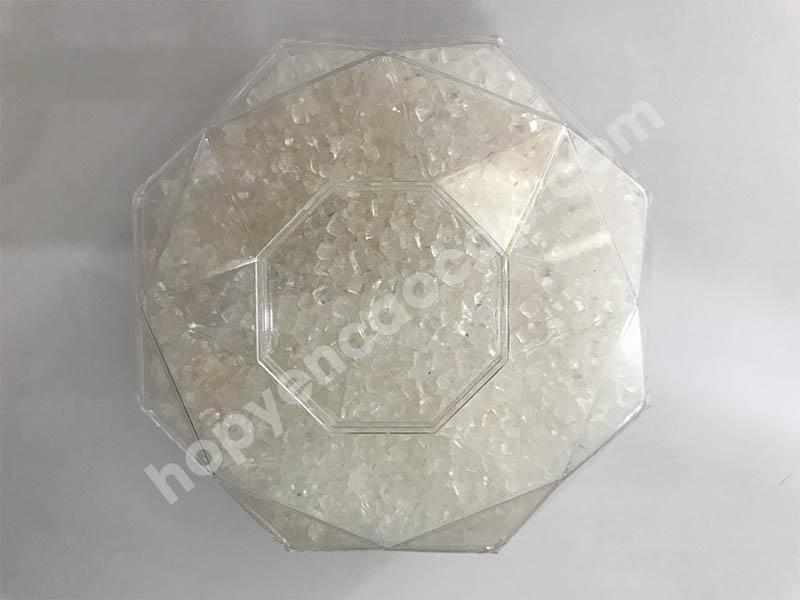 Hộp nhựa kim cương đựng đường phèn (size: 300g)